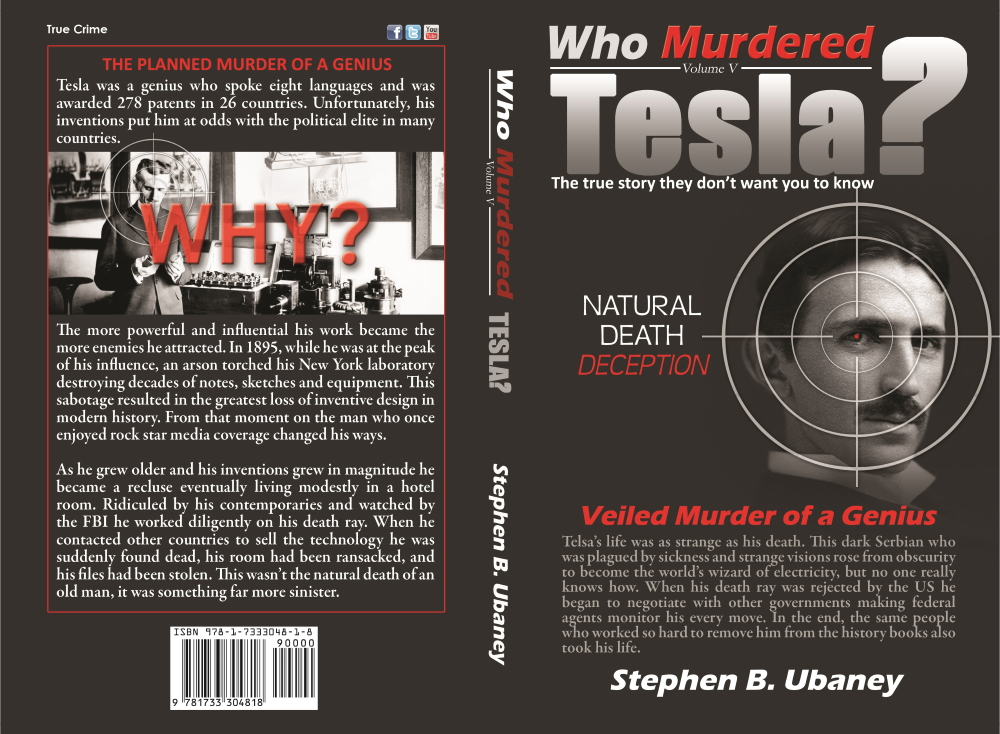 Who Murdered Tesla? book cover