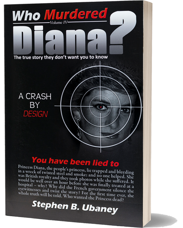 Who Murdered Diana? front book cover