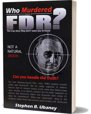 Who Murdered FDR? front book cover