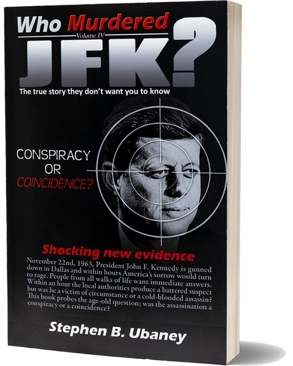 Who Murdered JFK? front book cover