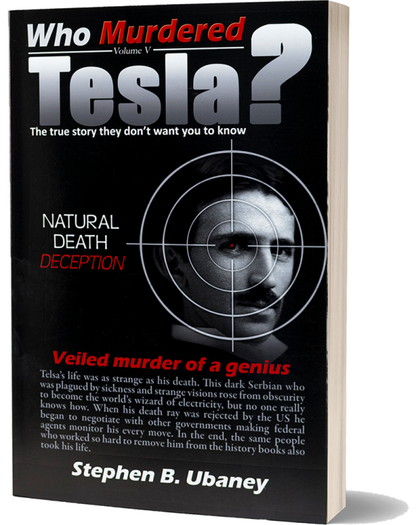 Who Murdered Tesla? front book cover